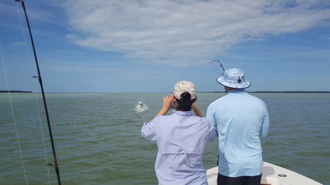 10 4 16 october islamorada backcountry fishing report for Florida keys fishing