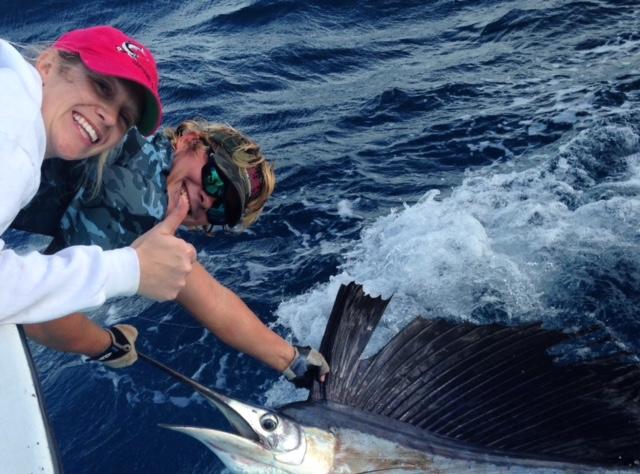 End of december 2016 islamorada deep sea fishing report for Bud n mary s fishing report