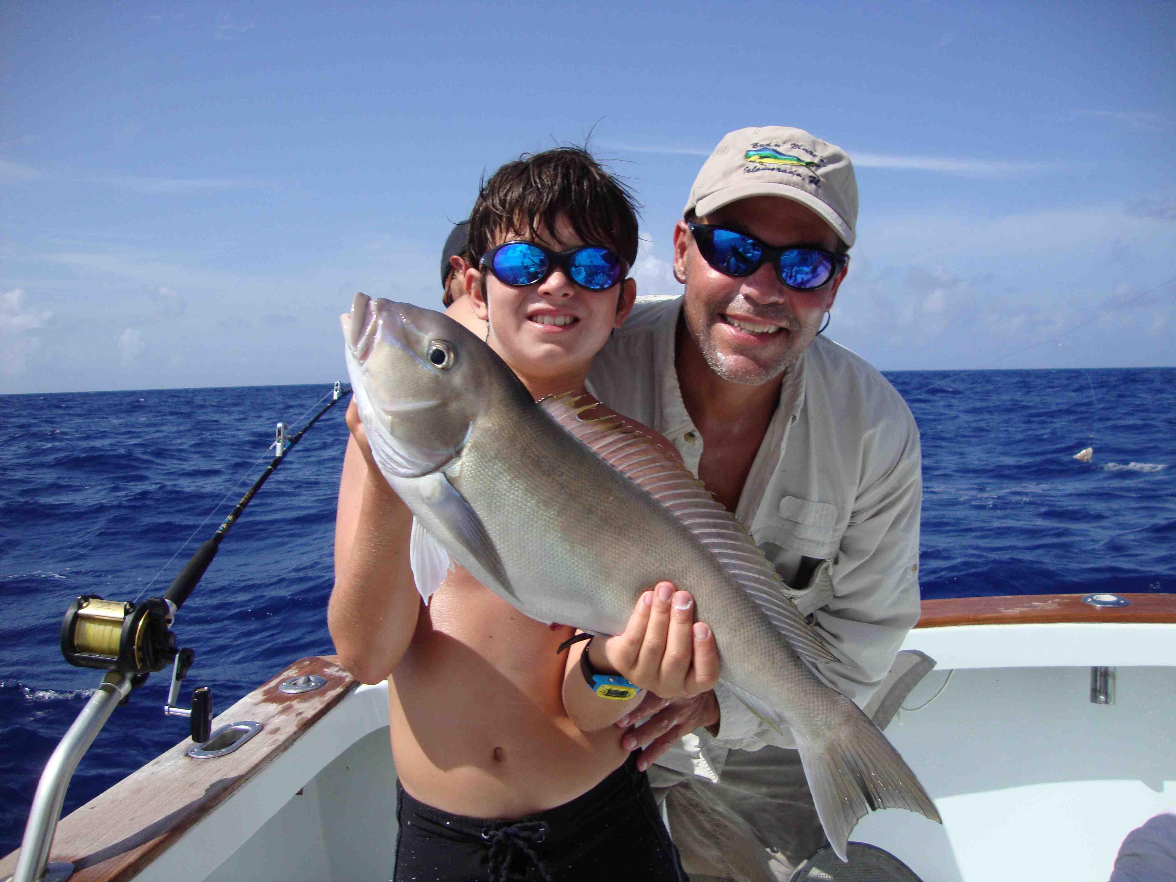 Big swordfish aboard catch 22 islamorada fishing for Bud n mary s fishing report