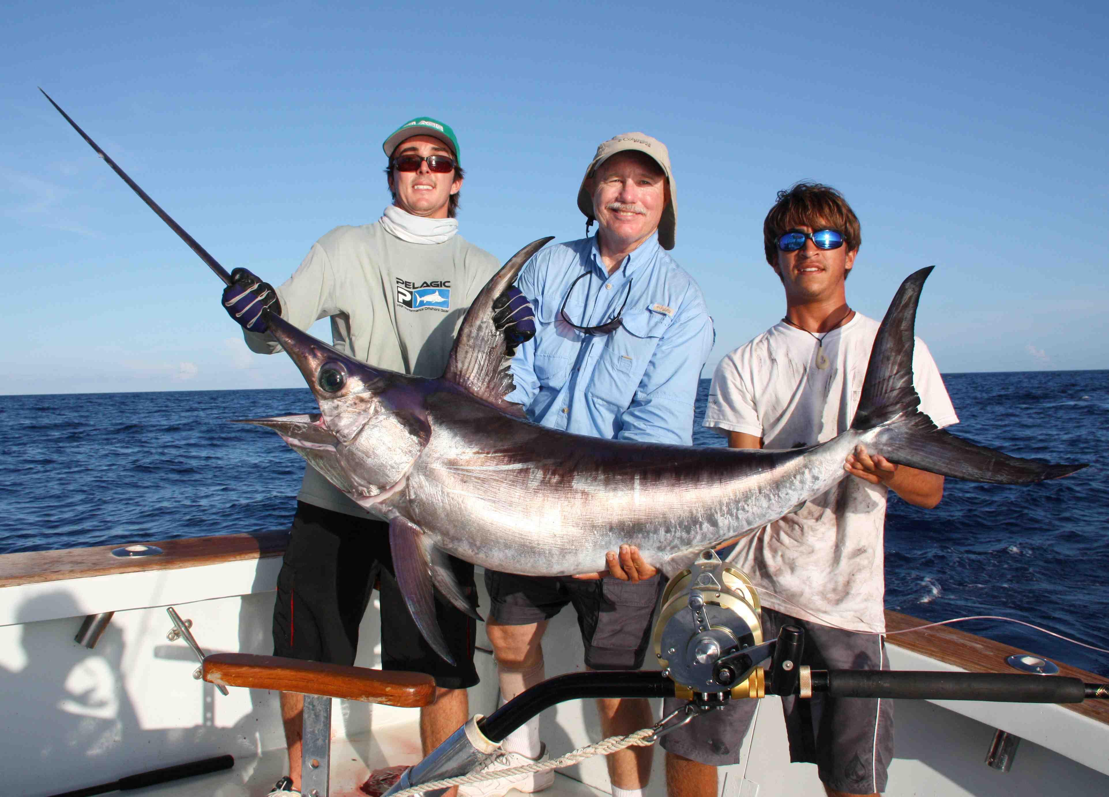 Image gallery swordfish fishing for Bud n mary s fishing report