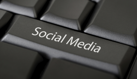 tfwco.com inbound marketing-this image shows computer keyboard with the words social media embossed on on key to represent simplicity