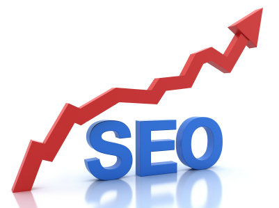 tfwco.com inbound marketing-this image shows the term SEO with a red arrow moving upward to show steady improvement