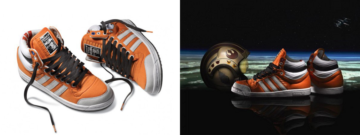 Star Wars X Adidas Originals 2010 Shoes