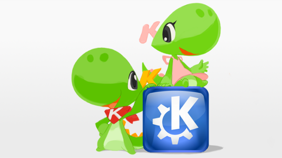 suse linux how to change from dolfin to kde