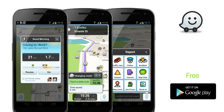 Waze - The Best Speed Trap IPhone Application