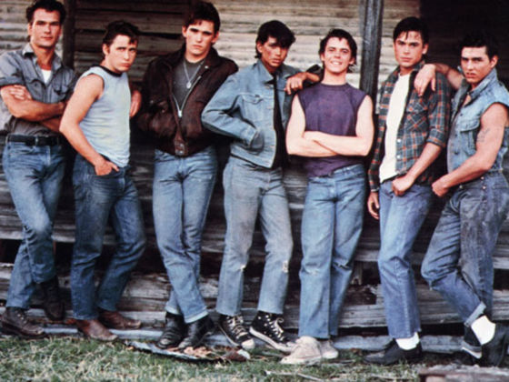 how does johnny change in the outsiders