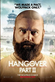 The original Hangover was one of the funniest movies of the past few years, and though the sequel's premise is a little thin - yes, they blackout AGAIN - I think the Hangover's comedy trio is one of the freshest in film today.  They say that funny things happen in threes, but for now we'll have to see if second time's the charm on May 26th.