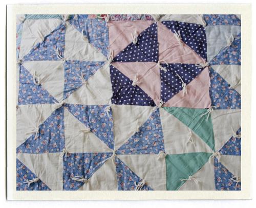 inchmark - inchmark journal - sweet dreams : quilt with yarn ties - Adamdwight.com