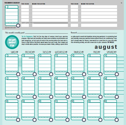 Colorcode Mode Journals Streaming Colors Fitness Monthly Journal