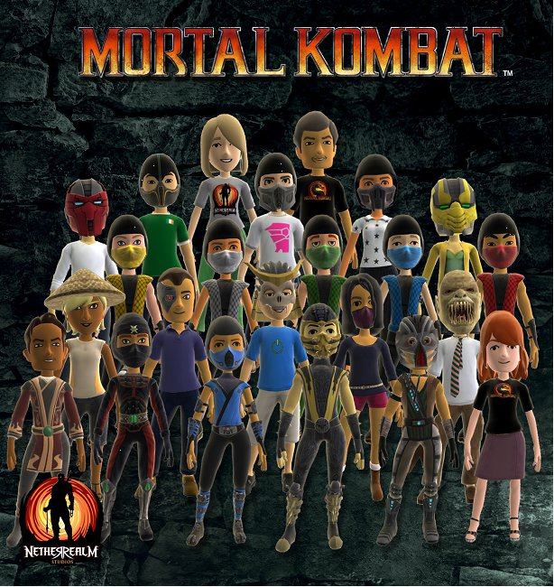Avatar Fighting Game: Xbox Live Getting New Mortal Kombat Avatar Outfits This