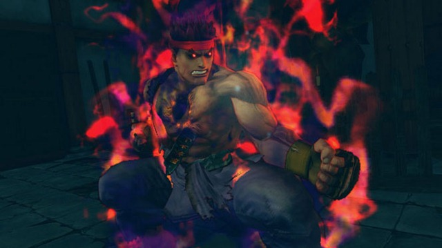 Evil Ryu Super Street Fighter 4 Arcade Edition Fighting