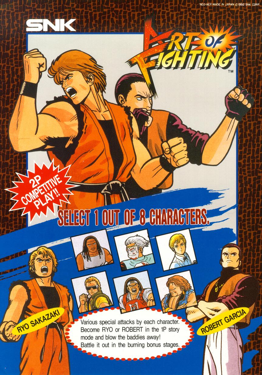 Art Of Fighting & Samurai Shodown II Tournament Videos ...