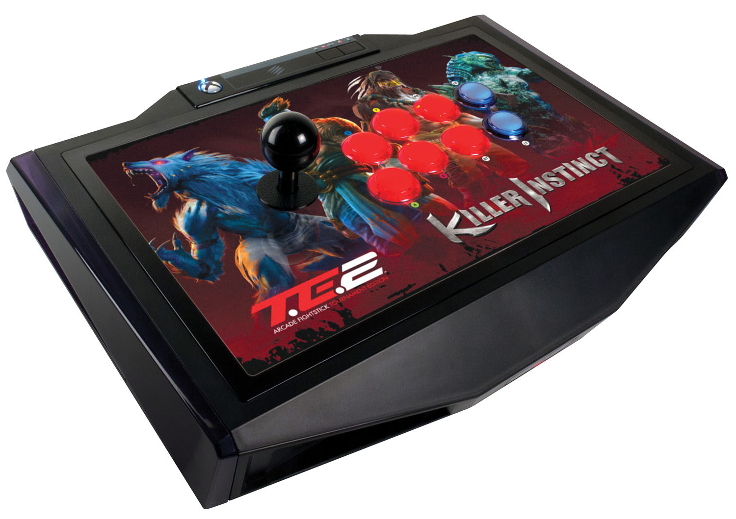 breaking in the killer instinct arcade fightstick te2 feature by mad