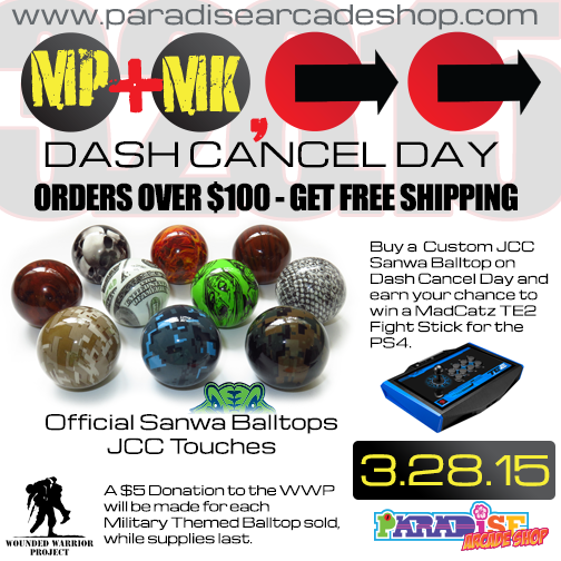 paradise arcade shop dash cancel day sale on march 28 win a mad