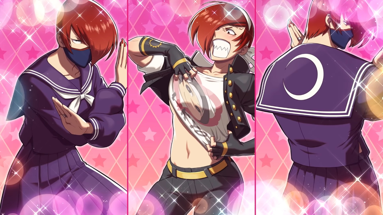 iori yagami coming to snk heroines tag team frenzy as missx