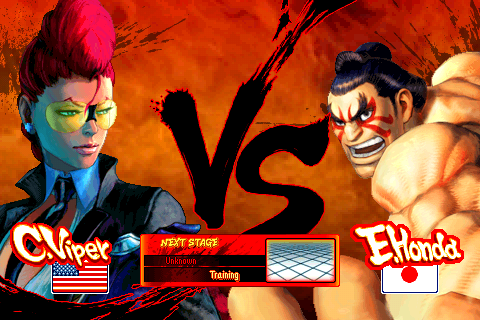 E Honda And C Viper Added To Sf4 Iphone Update Today