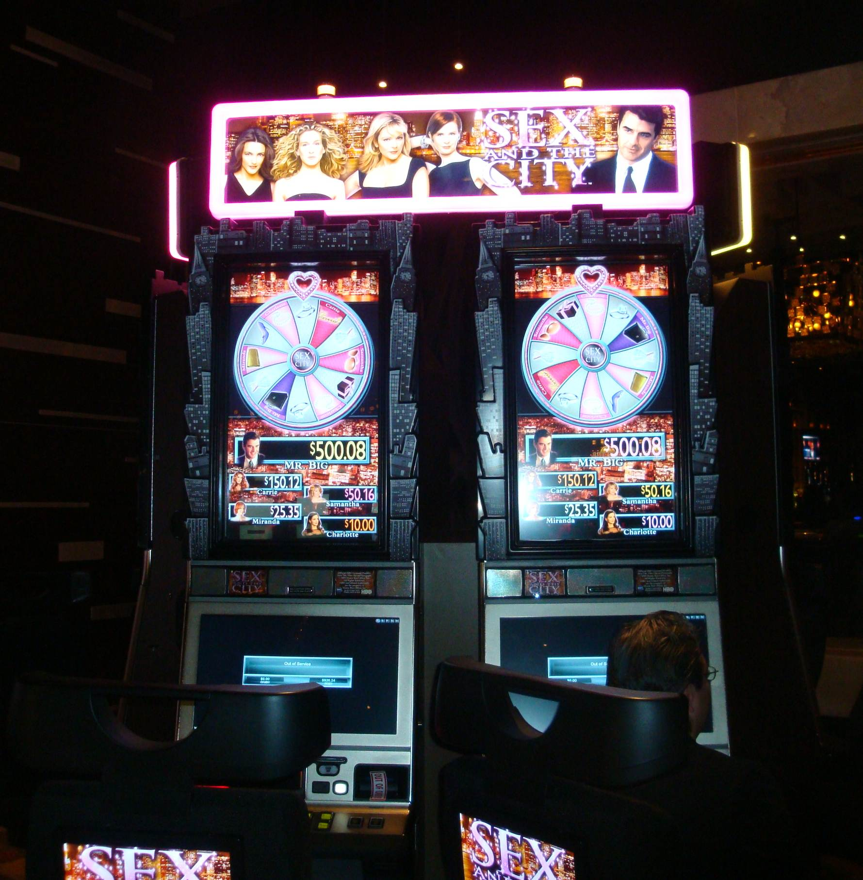 Sex and the city slot machines