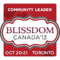 I'm a Blissdom Community Leader!