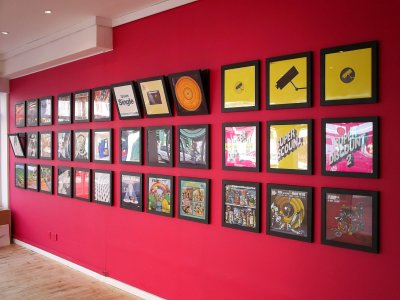 place for people who love records play and display frames