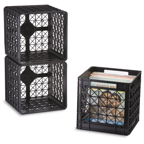 Would These Milk Crates Work For Vinyl Records