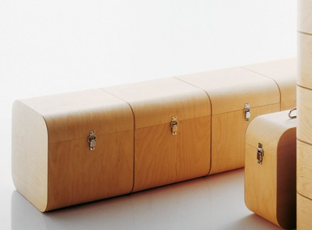 Charming These Handmade Birch Storage Boxes Were Designed And Made By Finish Designer  Harri Koskinen ...