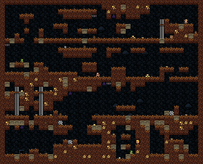 Critical Gaming Network Blog Spelunky A Game Design