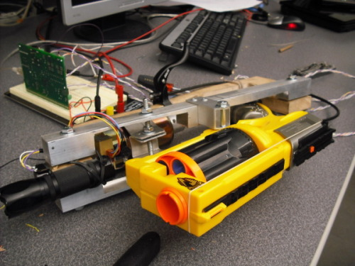 Roeurns blog auto ranging nerf gun final project nerf launcher range compensating sniper revolver mortar ballistic nerf gun for me 405 mechatronics sciox Image collections