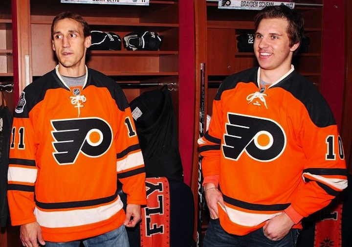 74ba51ff6 Flyers Unveil Winter Classic Jersey