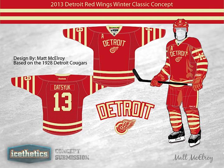 Detroit cougars jersey