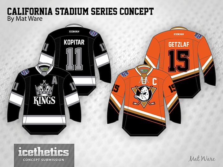 4e47f019b The Ducks and Kings unveil their Stadium jerseys today. Here s a look at  what Mat hoped to see for this game. Tomorrow we take a look at the New  York ...
