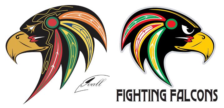 Falcon Head Logo Falcon Head LogoFalcon Head Logo