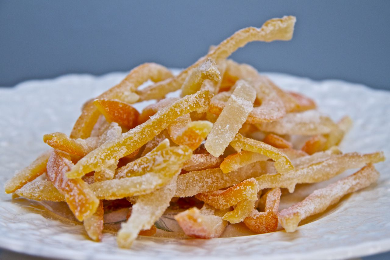 Sweet Candied Orange And Lemon Peel Recipes — Dishmaps