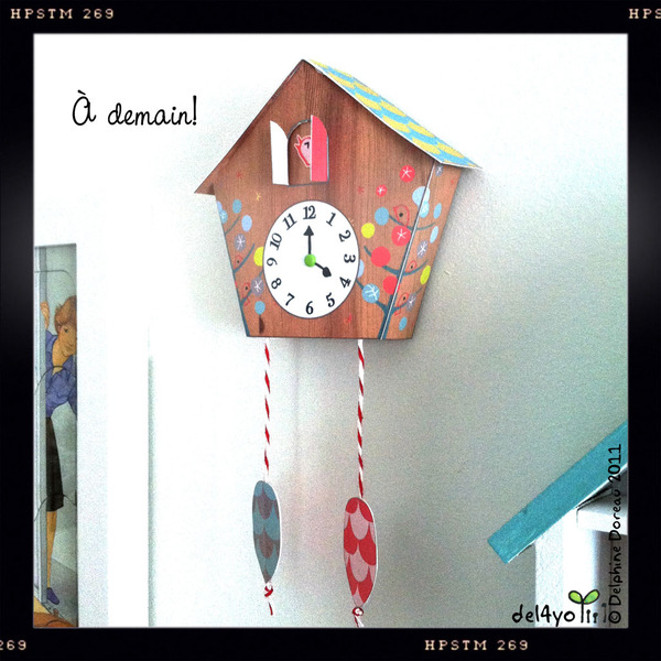 Make paper cuckoo clocks mom inc daily How to make a cuckoo clock