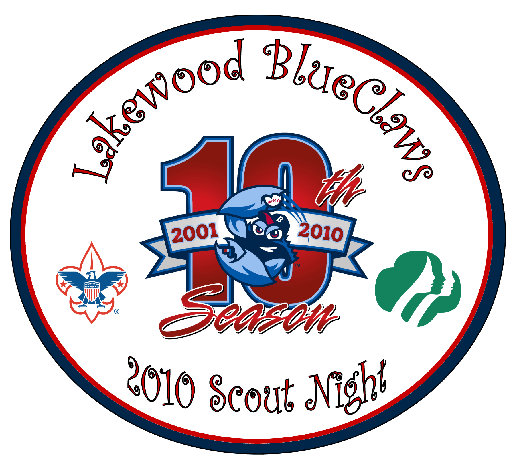 BlueClaws 2010