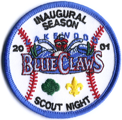 BlueClaws 2001