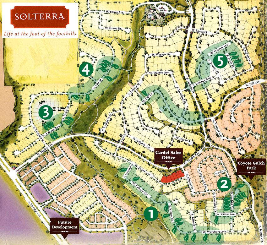 Reference Map - Aspen Creek Landscape