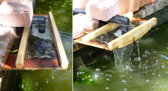 Product tank thought stream product design ideas for Small pond filter design