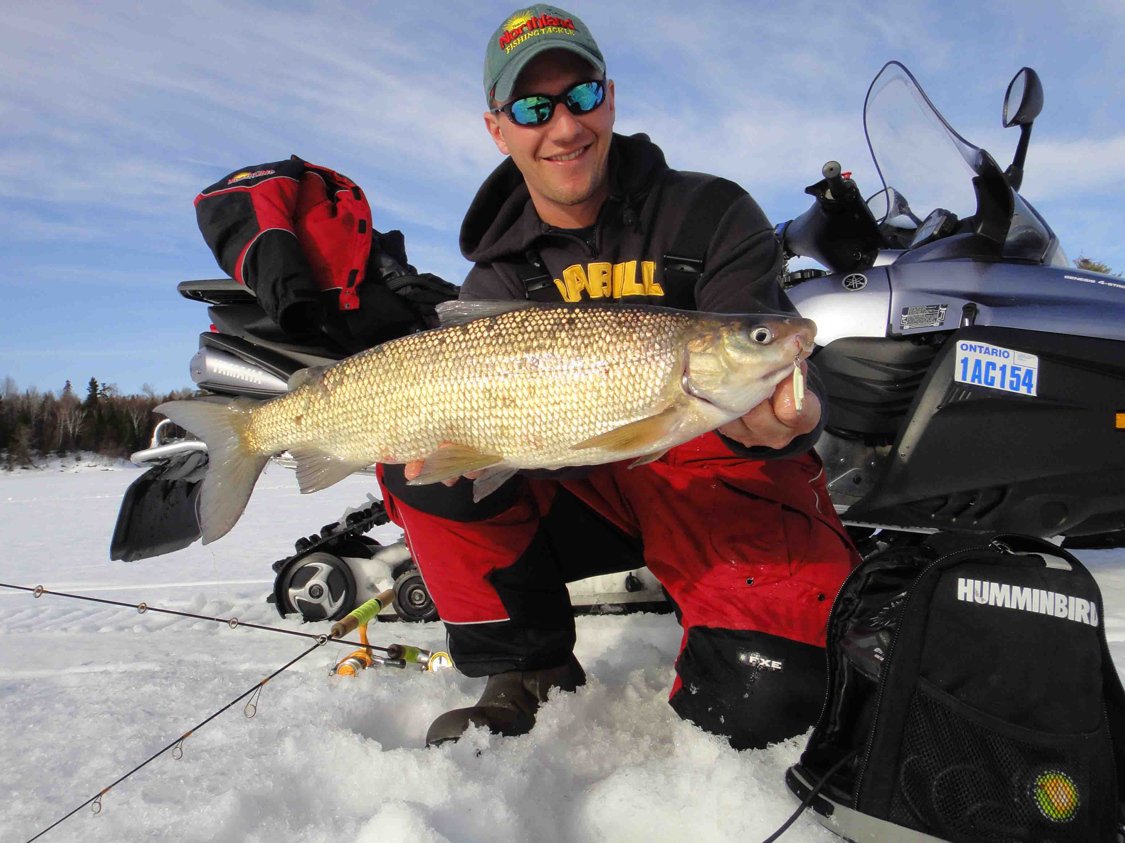 Gustafson outdoors home what 39 s going on ice fishing for Ice fishing report