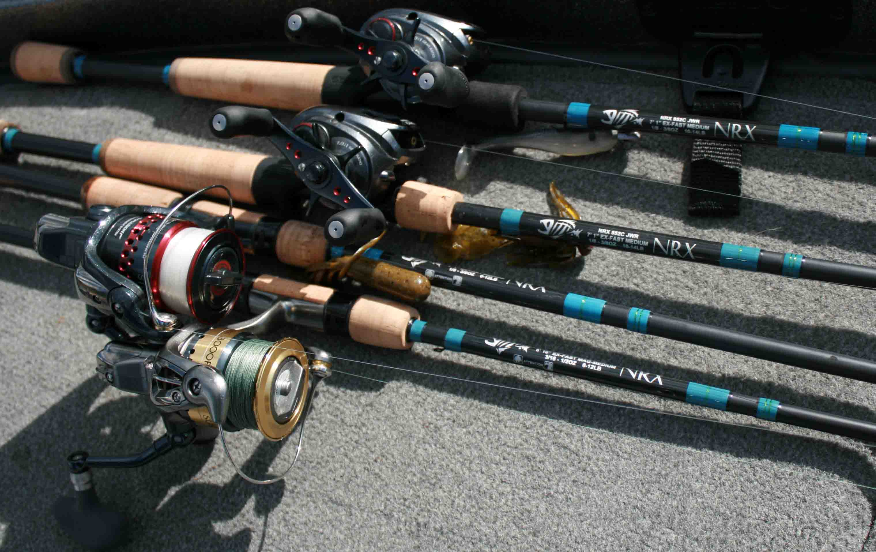 gustafson outdoors - home - what's going on? - g. loomis visit, Fishing Rod