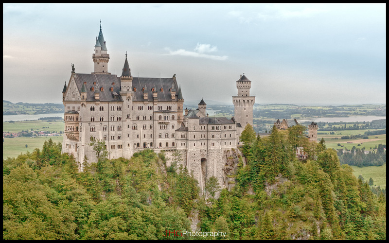Munich Munchen Germany HD High Definition Resolution HDR Wallpaper JHGphoto 2560x1440 1920x1200 City Urban Download Neuschwanstein Castle Schloss