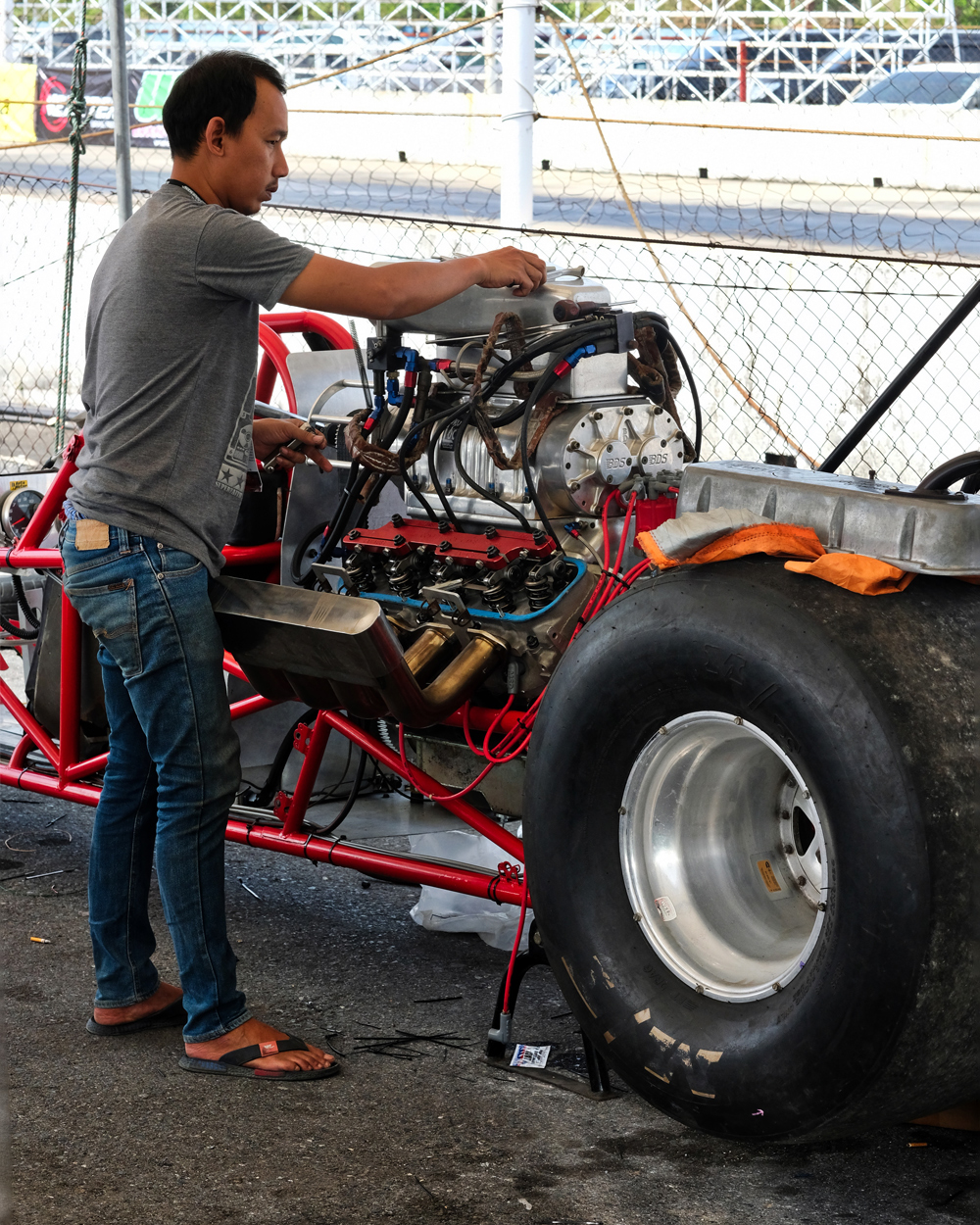 Dr Jeff Harper Photo Blog: The State Of Thai Drag Racing
