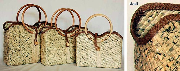 Handcrafting Justice Wowed At Ny Festival With Handmade Handbags From Recycled Materials Fashion Greenvitals