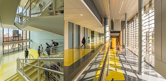 Chicago S Jones College Prep Opens New 7 Story Eco Building Set For Leed Gold Certification