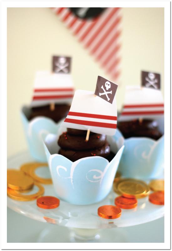 Imprimibles gratis para fiestas de piratas. | Ideas y material ...
