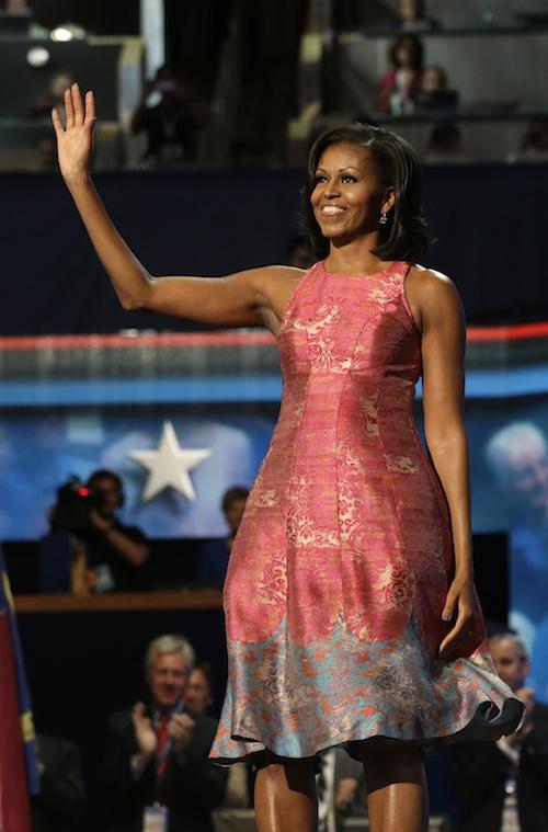 Mrs obama style of dress