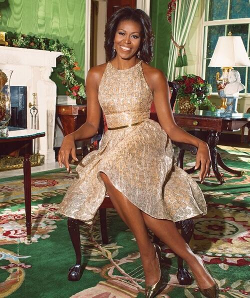 Gold And Glimmer Home Mrs O Follow The Fashion And Style Of First Lady Michelle Obama