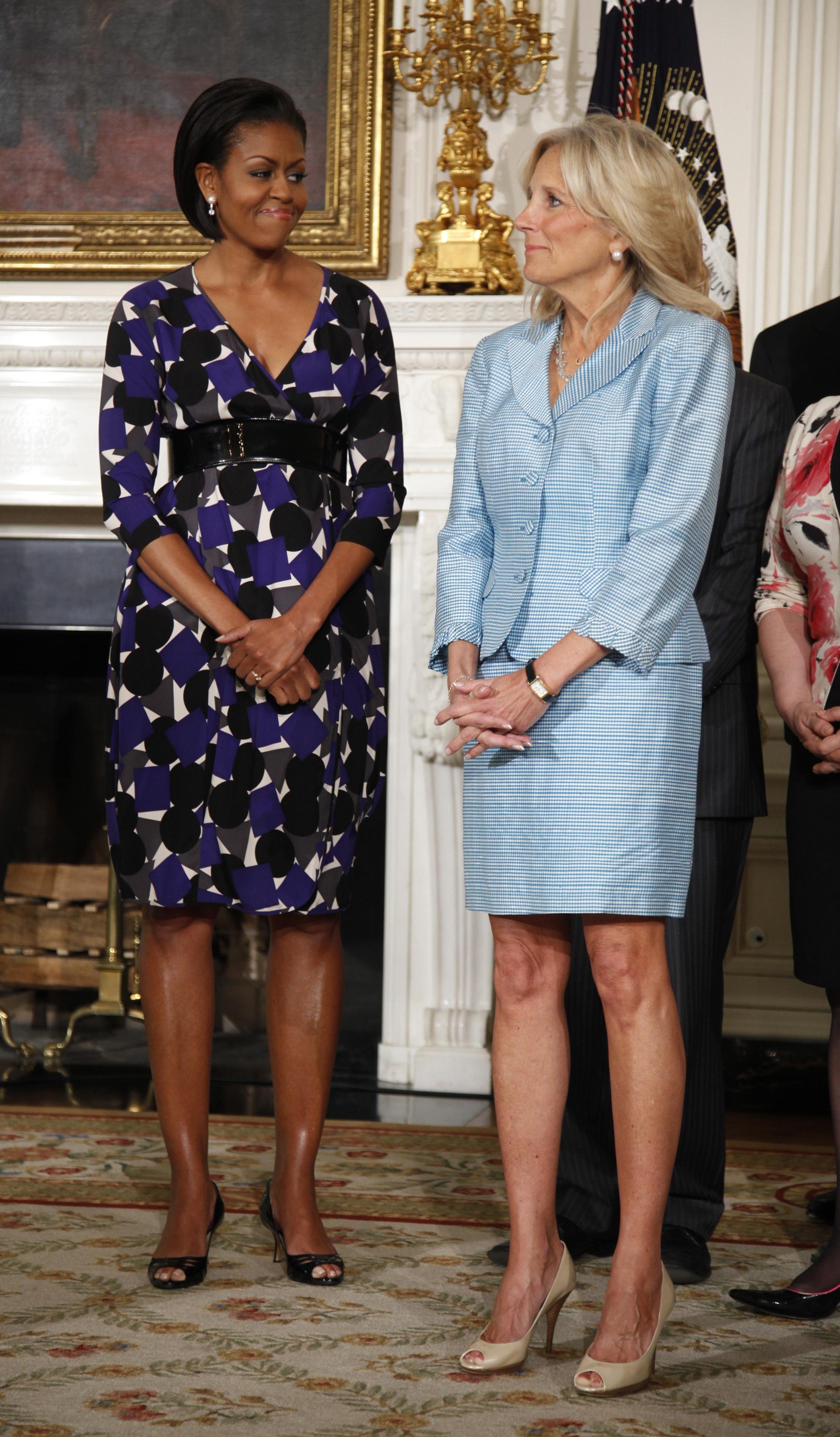 Congratulate, what pretty michelle obama feet consider, that