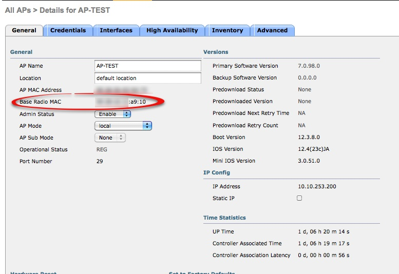 my80211 com - Cisco WLC CLI Commands