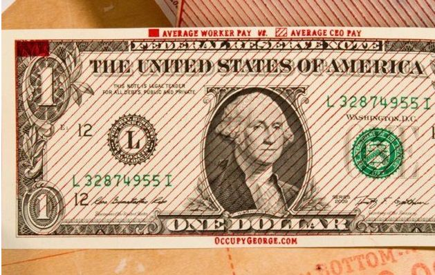 Here Are A Few More Dollar Bill Infographics From Occupy George