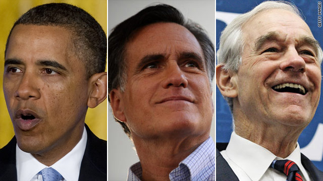 Obama Romney Ron Paul Photo